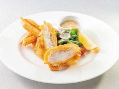 Joji's フィッシュ& チップス OZと信州の融合(スープ+ポテトフライ+ドリンクバー)